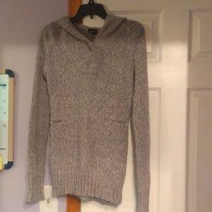 Grey sweater hoodie